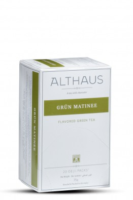 Althaus čaj zeleni Aroma