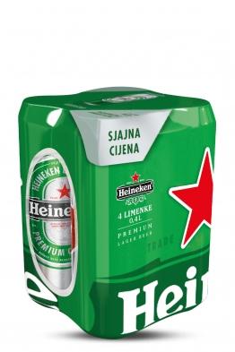 Heineken svijetlo pivo 4 pack