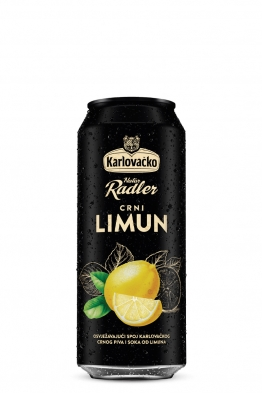 Karlovačko Radler tamno pivo limun