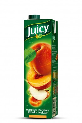 Juicy marelica jabuka breskva