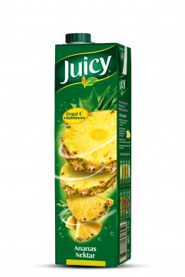 Juicy ananas nektar