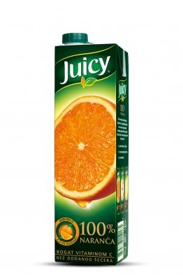 Juicy naranča 100%