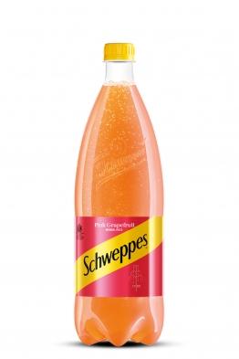 Schweppes pink grapefruit