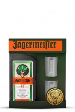 Jagermeister (gift box, 2 čaše)