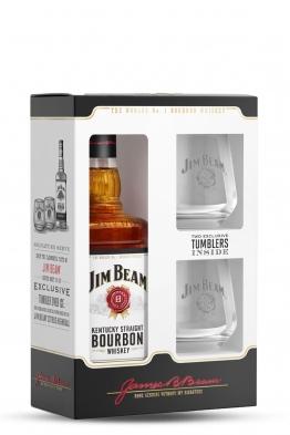 Jim Beam whiskey (gift box, 2 čaše)