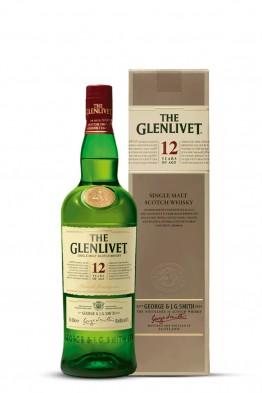 Glenlivet 12yo whisky (gift box)
