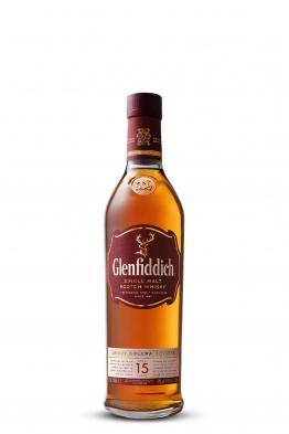 Glenfiddich 15yo whisky (gift box)