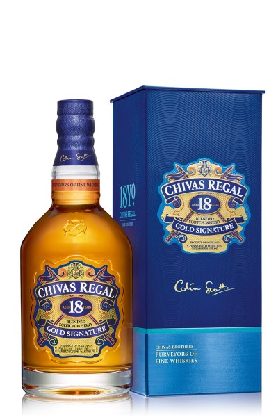 Chivas Regal 18yo whisky