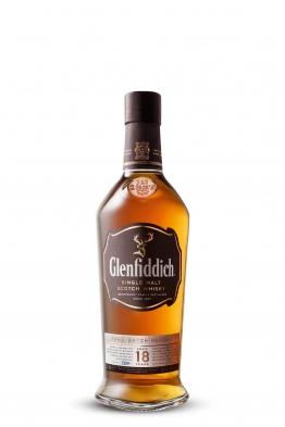Glenfiddich 18yo whisky (gift box)