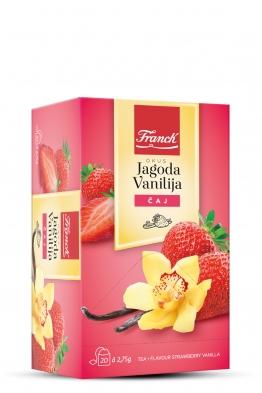 Franck čaj jagoda-vaniliija