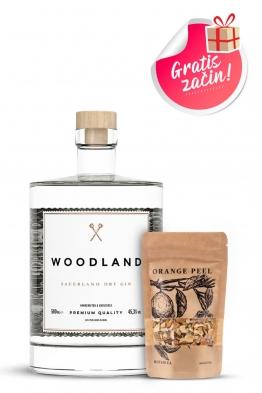 Woodland gin + začin narančina kora