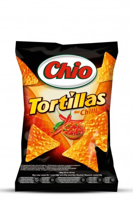Chio Tortillas Hot Chilli