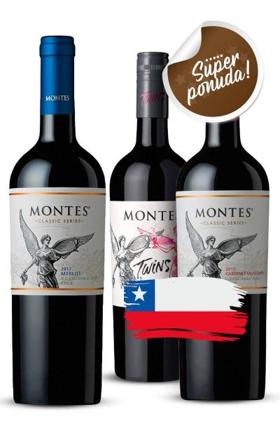 Paket Montes Taste of Chile