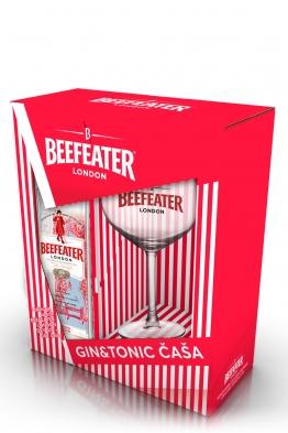 Beefeater gin + čaša