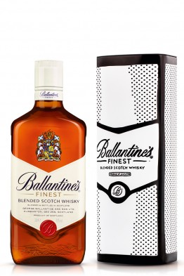 Ballantines whisky limenka