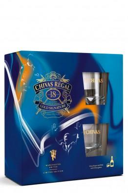 Chivas Regal 18yo whisky +2 čaše