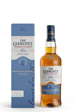 Glenlivet Founders Reserve whisky + 2 čaše