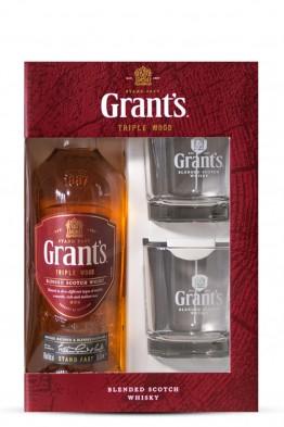 Grants 0,70 poklon kutija + 2čaše