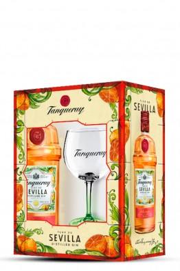 Tanqueray Sevilla gin + čaša