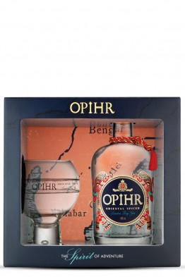 Opihr Oriental Spiced gin + čaša