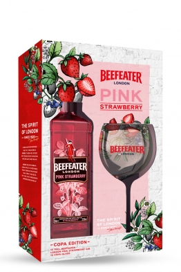 Beefeater Pink gin + čaša
