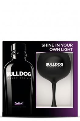 Bulldog gin + čaša