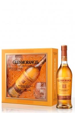 Glenmorangie Original 10yo whisky + 2 čaše