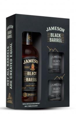 Jameson Black Barrel whiskey + čaše