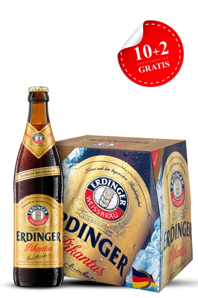 Erdinger Pikantus tamno pivo 12-pack