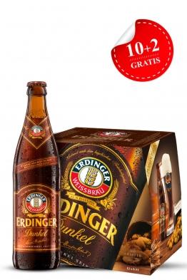 Erdinger Weissbier tamno pšenično pivo 12-pack