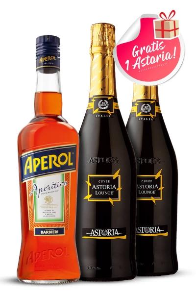 Paket Aperol + 2x Astoria Lounge