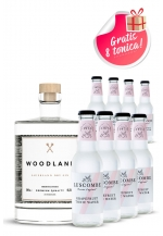 Woodland gin + Luscombe Tonic grejp 8 kom