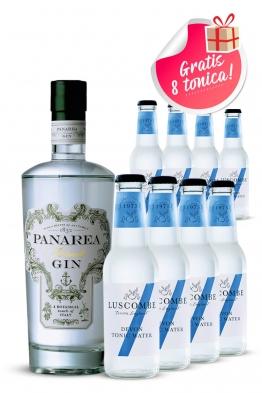 Panarea Sunset gin + Luscombe tonic 8 kom