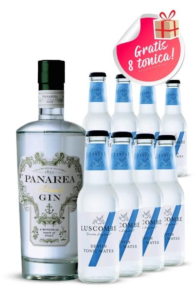 Panarea Island gin + Luscombe tonic 8 kom