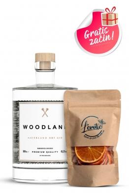 Woodland gin + začin dehidrirana naranča