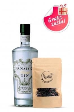 Panarea Island gin + začin borovica