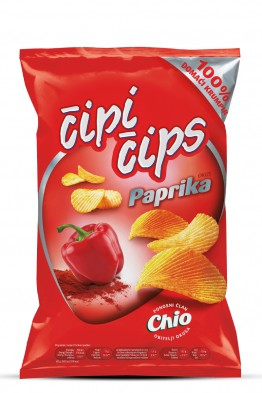 Čipi Čips paprika