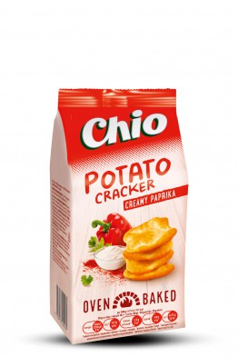 Chio potato cracker creamy paprika