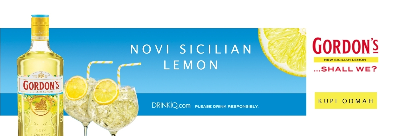 Gordons Sicilian Lemon